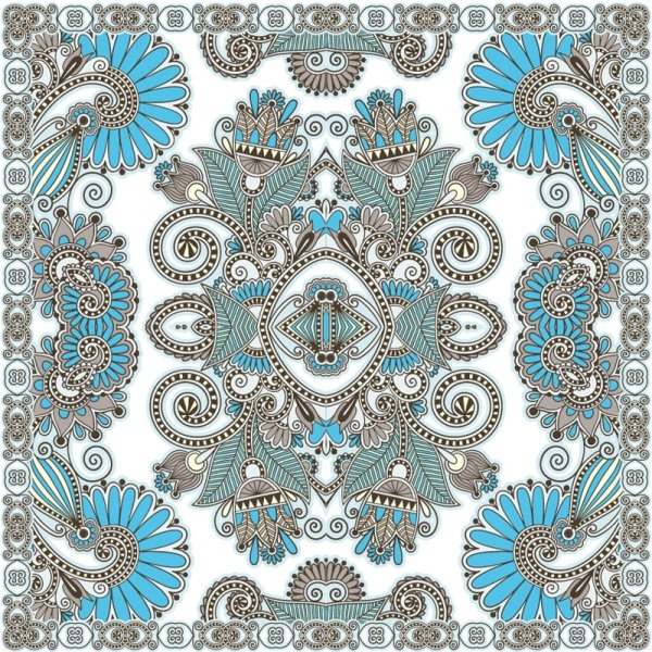 beautiful pattern background 04 vector