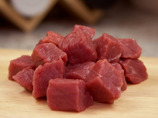 beef raw ingredient