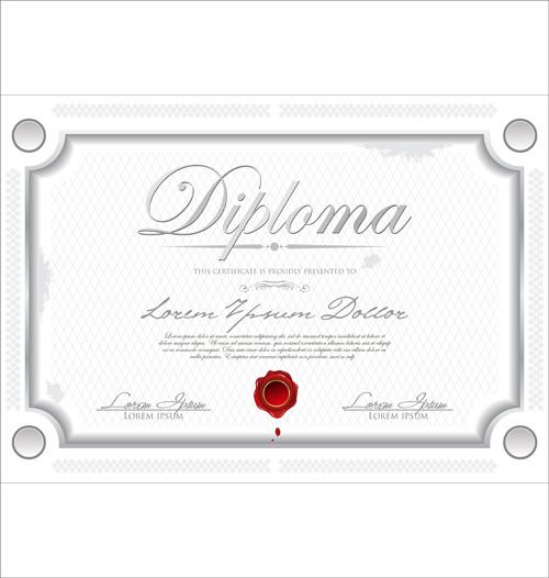 Certificate Template Adobe Illustrator Free Vector