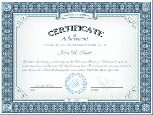 Best certificates design vector set free vector in encapsulated best certificates design vector set free vector 167mb yelopaper Image collections