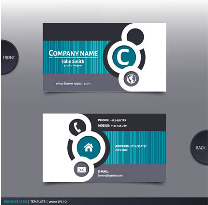 Best Company Business Cards Vector Design Free Vector In Encapsulated Postscript Eps Eps Vector Illustration Graphic Art Design Format Format For Free Download 2 81mb