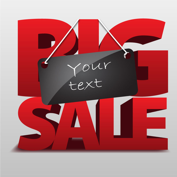 big sale template free vector in adobe illustrator ai ai vector