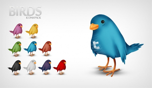 Birds - Icons Pack icons pack