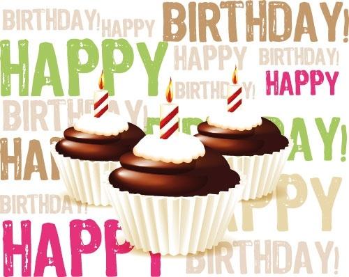 birthday cake 02 vector