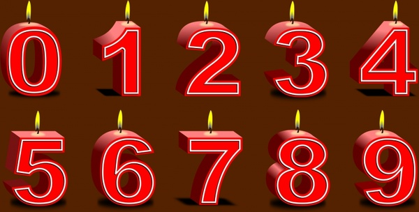 Birthday Candles Free Vector In Open Office Drawing Svg
