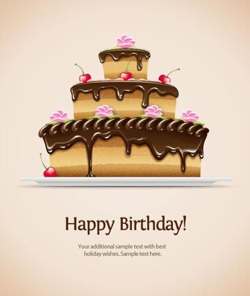 Birthday Card 02 Vector Free Vector In Encapsulated Postscript Eps