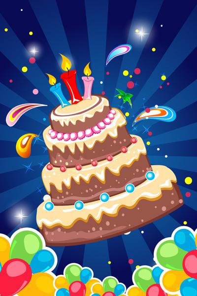 Birthday tarpaulin background free vector download (50,874 ...