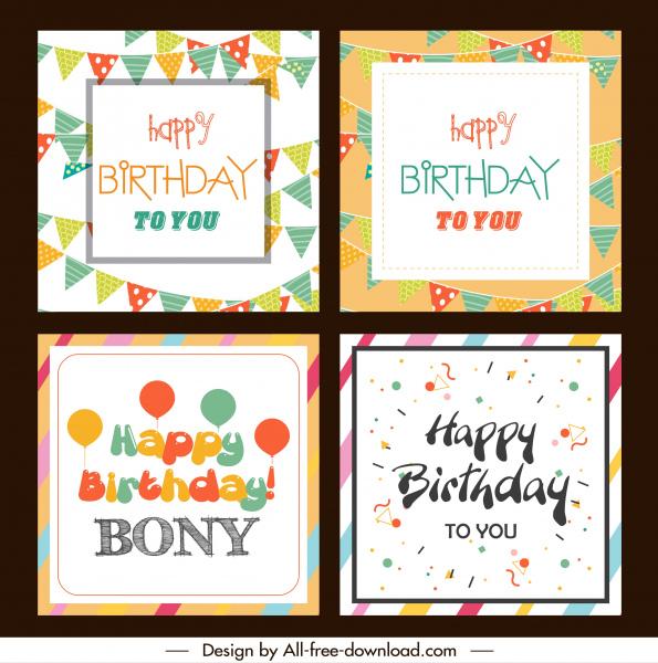 birthday card templates eventful balloon confetti ribbon decor