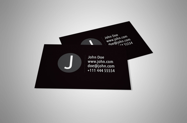 Black and white personal business card design free vector in adobe black and white personal business card design free vector 100mb reheart