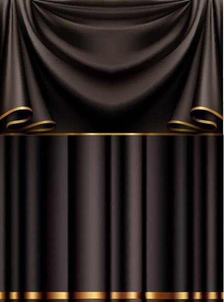 black cloth vector