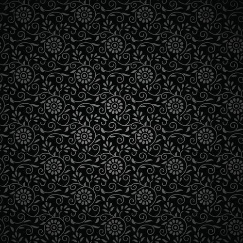 black floral backgrounds