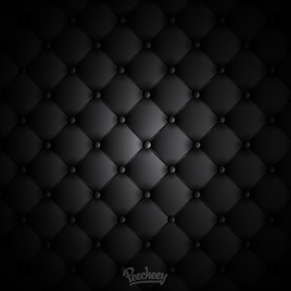 Black leather background illustration Free vector in Adobe ...