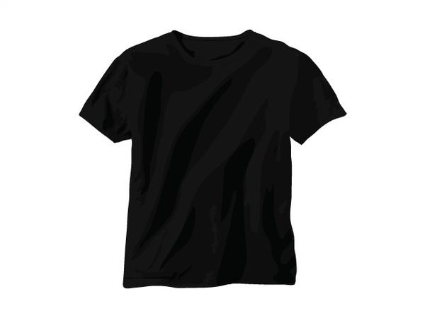 black t shirt free vector in adobe illustrator ai ai vector rh all free download com black t shirt vector psd black t shirt vector psd