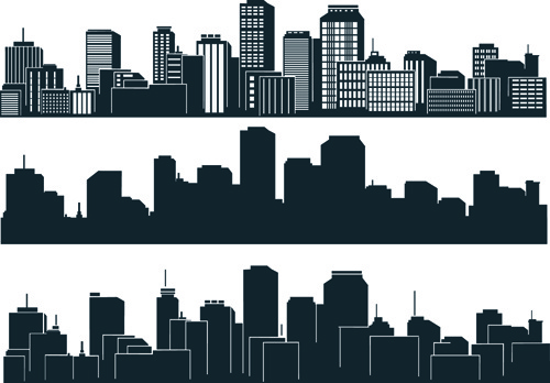 black with white city building design vector free vector in rh all free download com victor building concepts vectra building services
