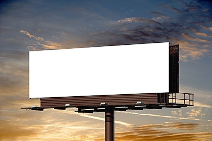 blank largescale outdoor billboard picture 1
