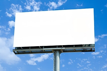 blank largescale outdoor billboard picture 2