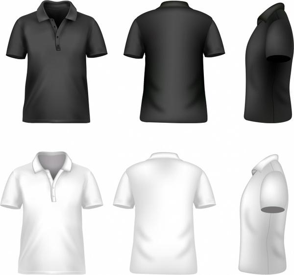 Tee Shirt Design Template Illustrator: Blank Men T-shirt Free Vector In Adobe Illustrator Ai
