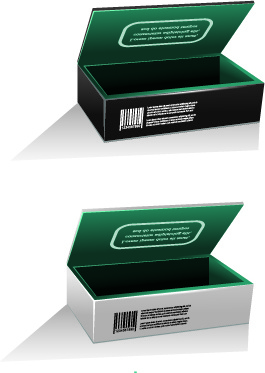 blank package box template design vector free vector in encapsulated