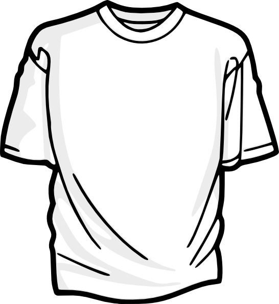 Blank T Shirt Clip Art Free Vector In Open Office Drawing Svg Svg