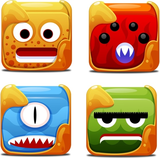 Block Creatures Icons icons pack