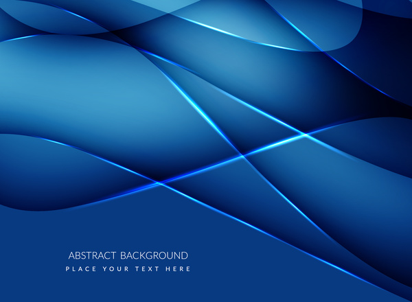 blue abstract background free vector in adobe illustrator ai ( .ai