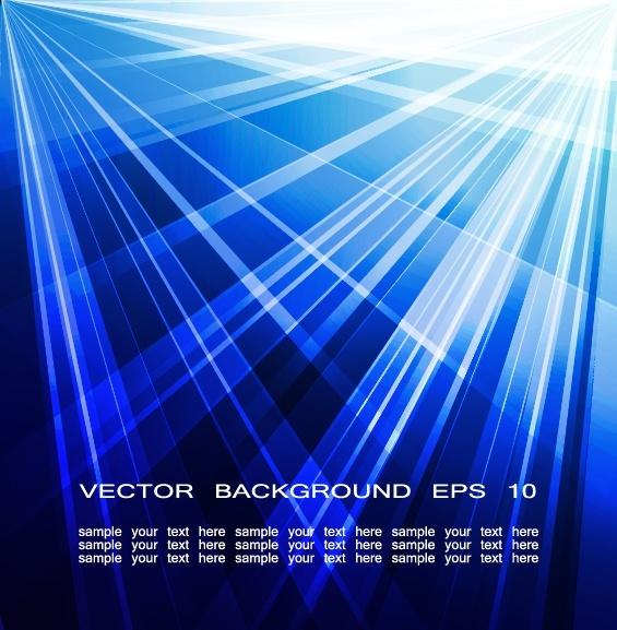 light background modern dark bright blue rays decor