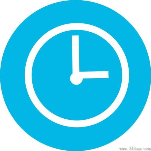blue background clock icon vector free vector in adobe free happy birthday clipart graphics free happy birthday clip art for women