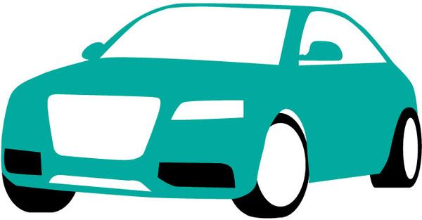 Blue car illustration Free vector in Adobe Illustrator ai ( .ai ) vector illustration graphic art design format format for free download 140.54KB