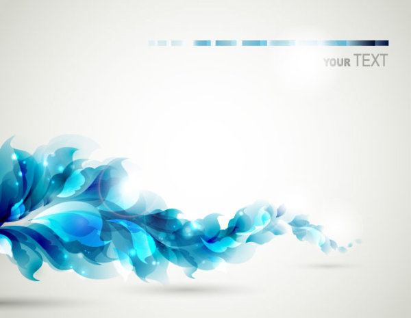 Blue Color Lily Flower Background Vector Free Vector In Adobe