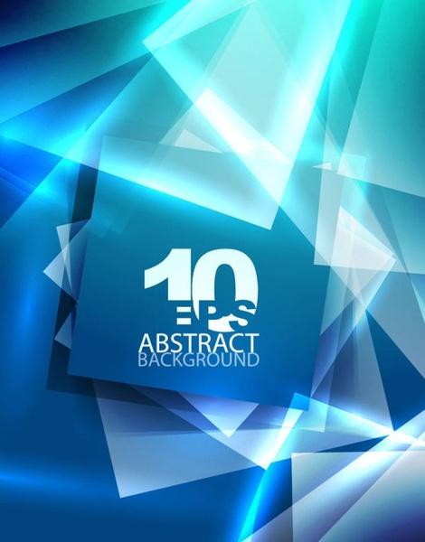 blue dynamic technology background 04 vector