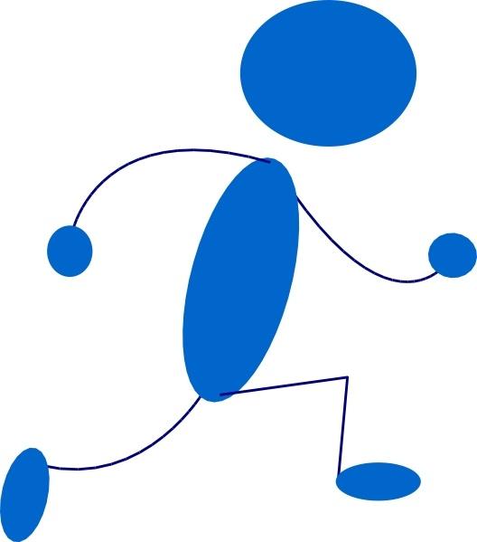 Blue Guy Clip Art