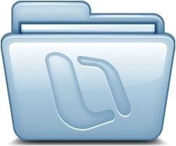 Blue Microsoft Office