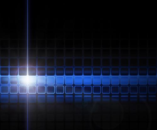 blue squares concept background vector