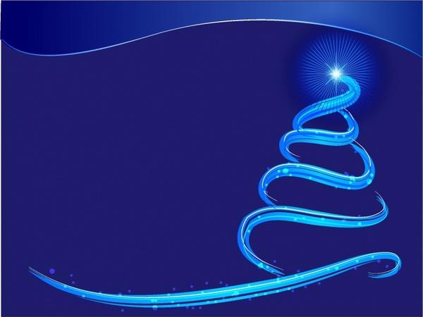 blue xmas background