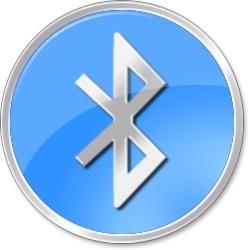 Bluetooth round sign