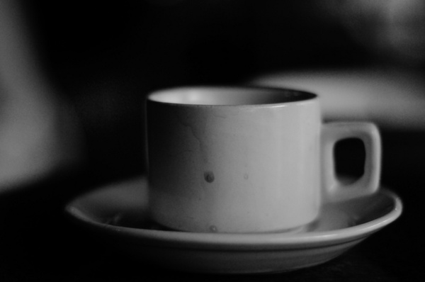 blurry memories of a coffee