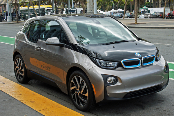 bmw i3 electric car embarcadero san francisco