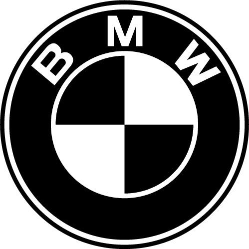 логотип bmw вектор