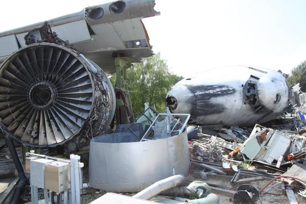 boeing 747 wreckage