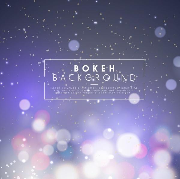 bokeh background sparkling circle decoration