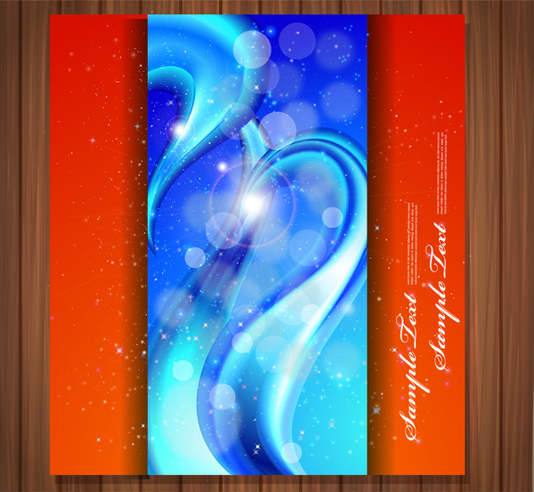 bokeh background vector illustration with abstract design