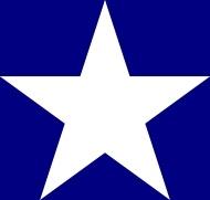 Bonnie Blue Flag clip art