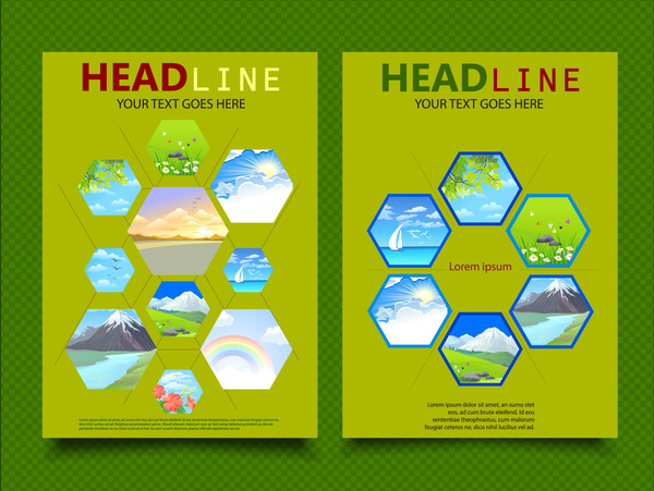 School Book Cover Design Samples : Book cover page design free vector download