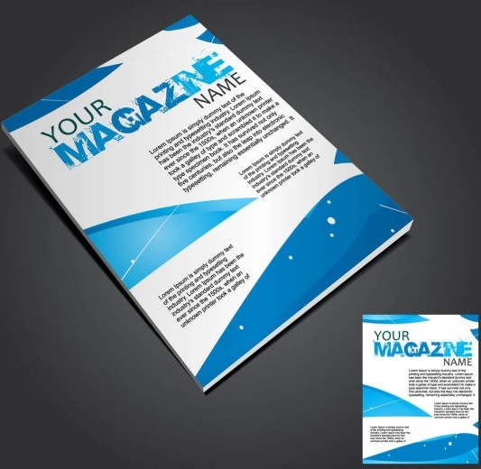 Book Cover Vector : Book cover design template free vector download