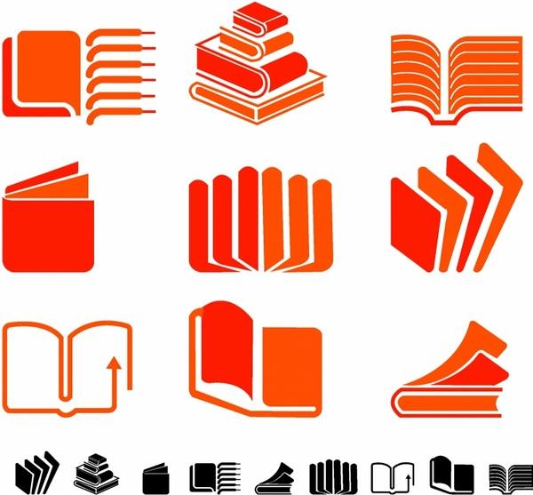 Book Symbols Free Vector In Adobe Illustrator Ai