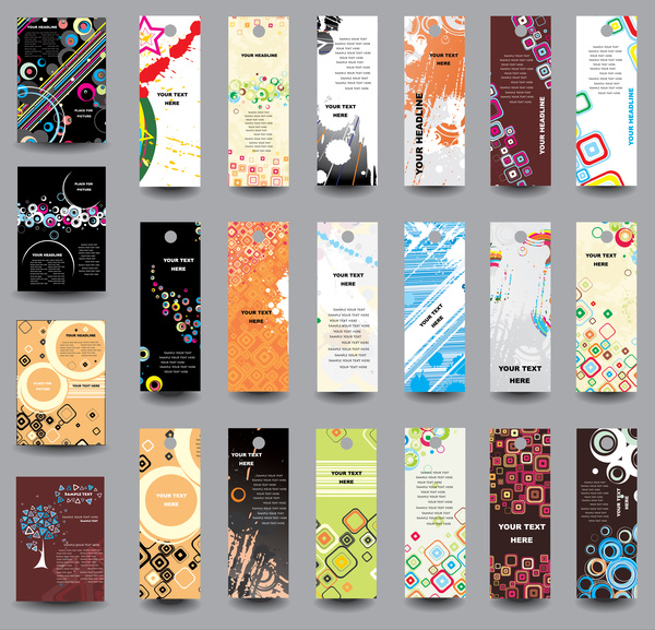 Free bookmark designs free vector download (181 Free ...