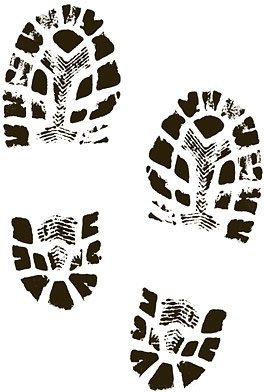 Boots Shoes Shoe Print Clip Art Free Vector In Encapsulated Postscript Eps Eps Vector Illustration Graphic Art Design Format Format For Free Download 664 88kb