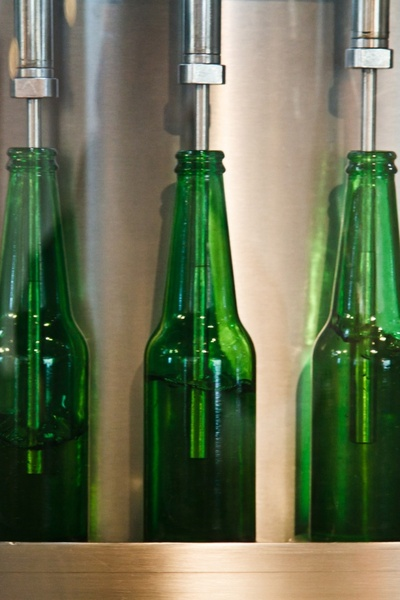 bottling beer