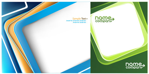 Box business card template vector graphic Free vector in ...