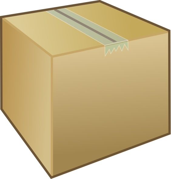 Box Clip Art Free Vector In Open Office Drawing Svg    Svg